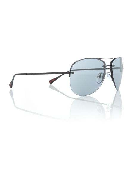 Prada Linea Rossa PS 50RS aviator sunglasses