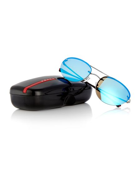 Prada Linea Rossa PS 51RS irregular sunglasses