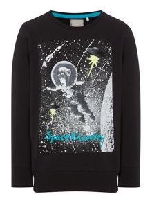 name it Boys Space monkey sweatshirt