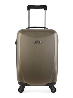 Talara bronze 4 wheel hard cabin suitcase