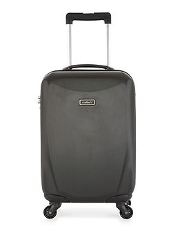 Talara black 4 wheel hard cabin suitcase