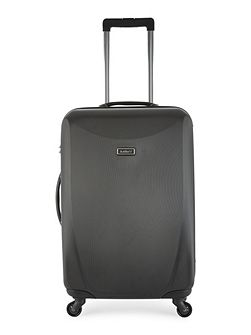 Talara black 4 wheel hard medium suitcase