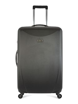 Talara black 4 wheel hard large suitcase
