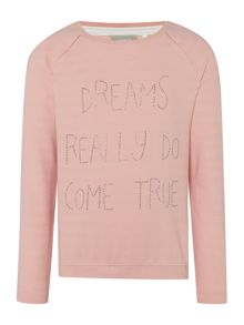 name it Girls Dreams come true sweat