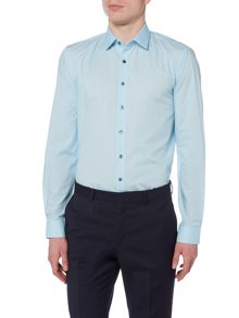 Calvin Klein Long Sleeved Slim Fit Bari Shirt