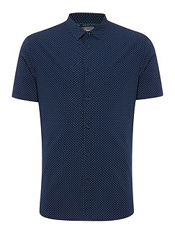 Lee Square Polka Dot Short Sleeve Shirt