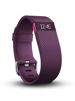 Charge HR Wireless Heart Rate Wristband Plum