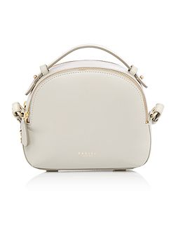 Radley Bow street grey medium bowler multiway bag