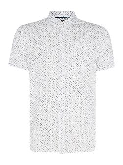 Men's Linea Moore O Print Short Sleeve Shirt