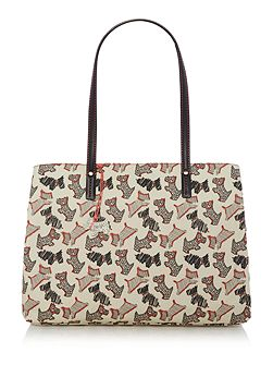 Fleet street ivory large tote bag
