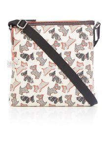 Fleet street ivory small cross body bag