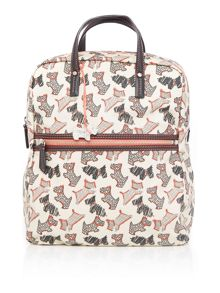 Fleet street ivory large backpack