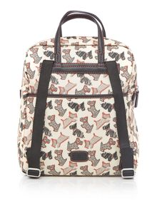 Radley Fleet street ivory large backpack