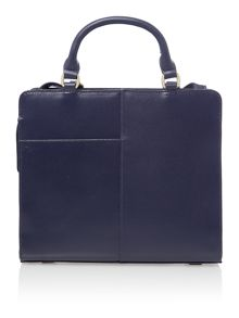 Radley Clerkenwell navy medium multiway bag