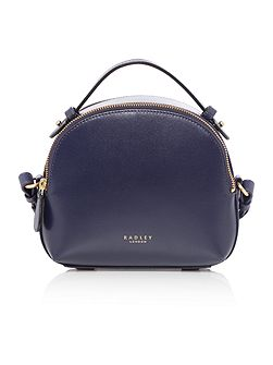 Bow street navy medium bowler multiway bag