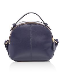Radley Bow street navy medium bowler multiway bag
