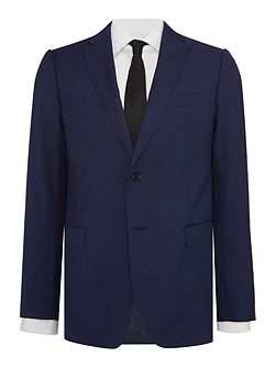 Slim Micro Check Suit