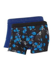 Bjorn Borg Cursed floral and plain trunk 2 pack