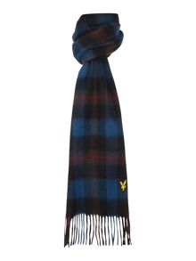 Lyle and Scott Classic tartan wool scarf