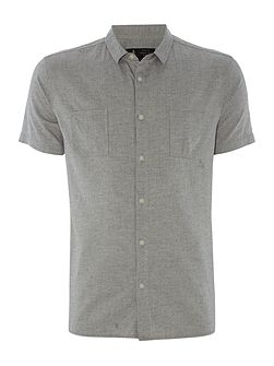 Faro Washed Herringbone Shirt