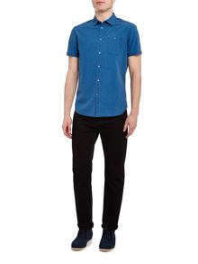 Linea Morrison Denim Short Sleeve Shirt