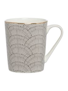 Living by Christiane Lemieux Shibori Mug