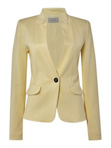 Marella Guida fitted long sleeve jacket with pocket