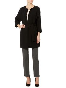 Marella Maniero long sleeve jacket with tie waist