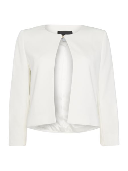 Marella Cappa long sleeve jacket with removable tie waist