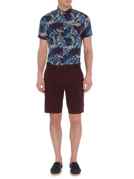 Linea Ali Floral Short Sleeve Shirt