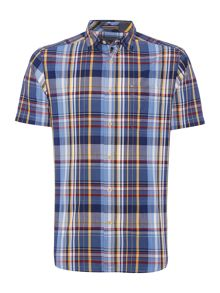 Howick Newton check short sleeve shirt