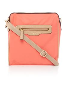 Radley Mercer street orange medium cross body bag