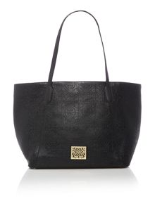 Biba East west emboss handbag