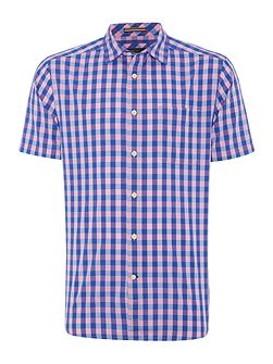 Allenhurst gingham short sleeve shirt