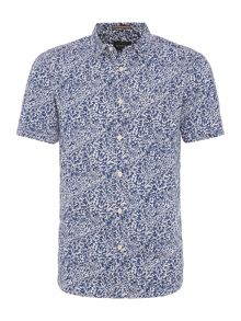 Howick Plantation print short sleeve shirt