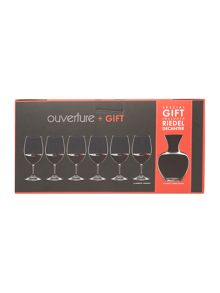 Magnum wine glasses & decanter