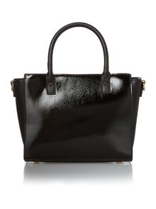Juno Black lizard e/w tote bag