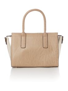 Juno Taupe tote cross body bag