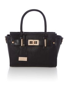 Juno Black tote crossbody