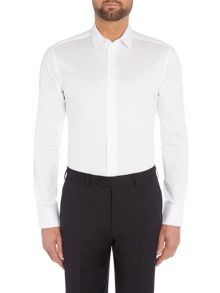 Slim Stretch Cotton Shirt