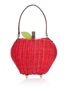Apple red bag