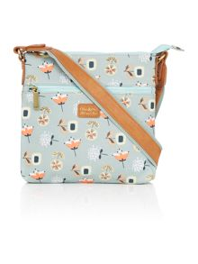 Ollie & Nic Bloom light blue crossbody bag