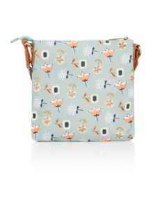 Bloom light blue crossbody bag