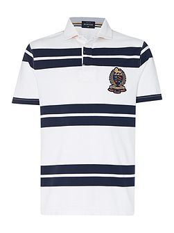 Lincoln Stripe Short Sleeve Rugby