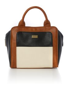 Ollie & Nic Garbo multi-coloured bowler bag