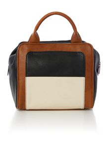 Garbo multi-coloured bowler bag
