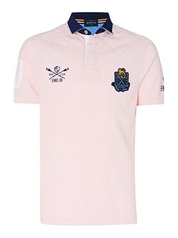 Richford Club Rugger Short Sleeve Polo Shirt