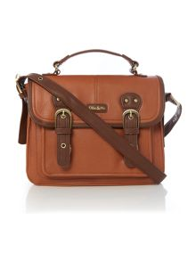 Gina tan satchel
