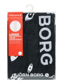 Bjorn Borg Solid colour long johns
