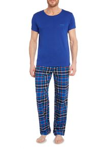 Bjorn Borg Poison check pant and tee in a box